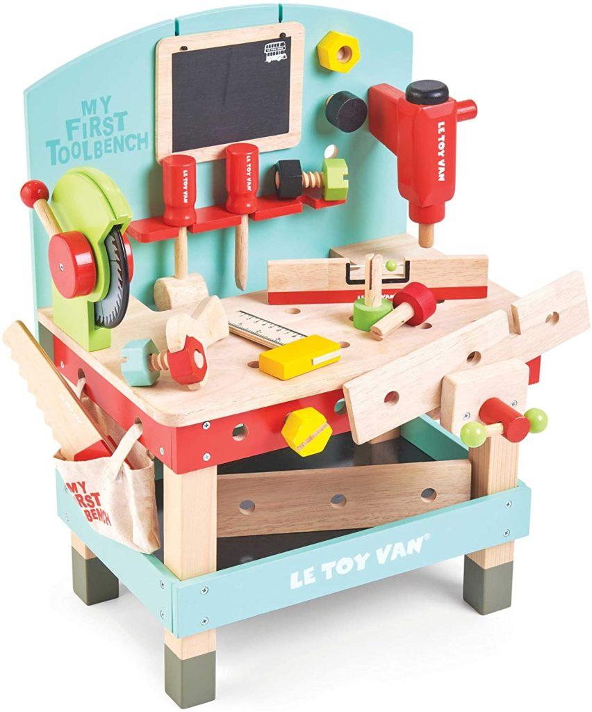 Etabli en bois Van Toy pour enfant