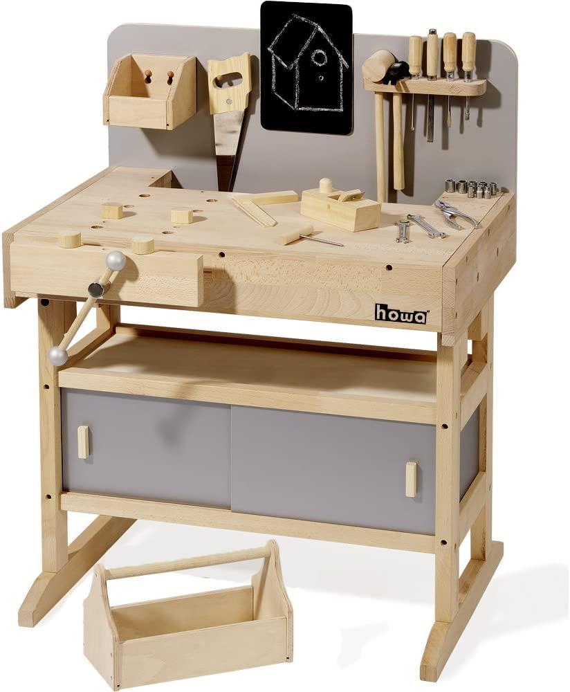Etabli en bois Howa pour enfant