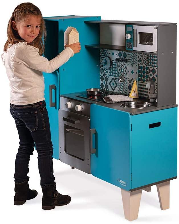 Cuisine en bois pour enfant de la marque Janod Lagoon