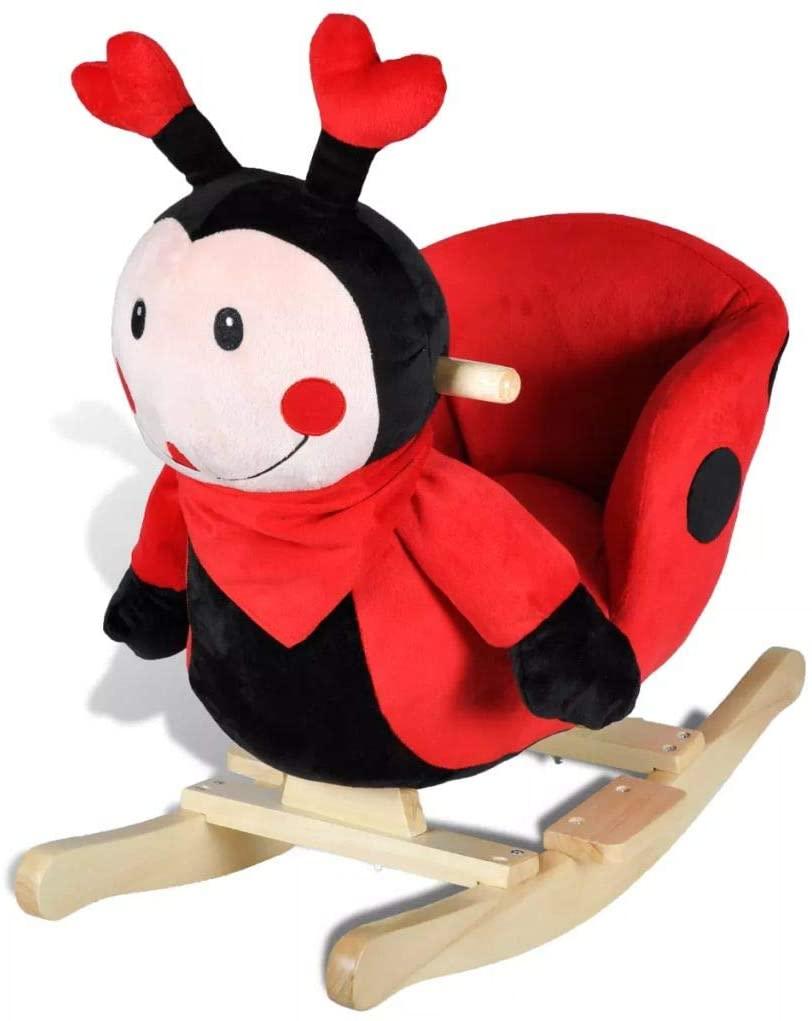 coccinelle en bois pour enfant